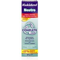 Kukident Complete Neutro Kukident Neutro vi fornisce presa forte e grande comfort senza colori artificiali o additivi per il sapore.  Ha quindi un gusto completamente neutro.