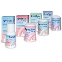Zymafluor compresse 0,25 mg Integratore a base di Sodio Fluoruro per la prevenzione della Carie dentaria. Da Novartis.