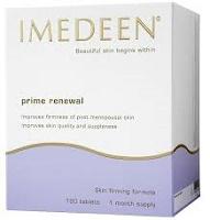 IMEDEEN Prime Renewal  Formula anti-age, a partire dai 50 anni L'integratore alimentare Imedeen Prime Renewal™, aiuta a contrastare i segni dell'invecchiamento della pelle che si manifestano con l'avanzare dell'età.